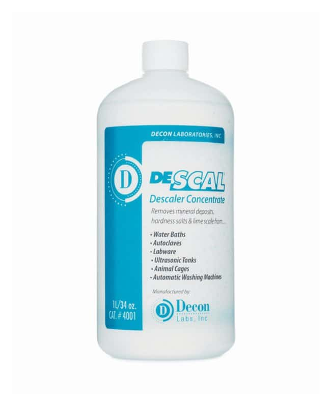 Decon DeSCAL Concentrate :Gloves, Glasses and Safety:Cleaning Supplies