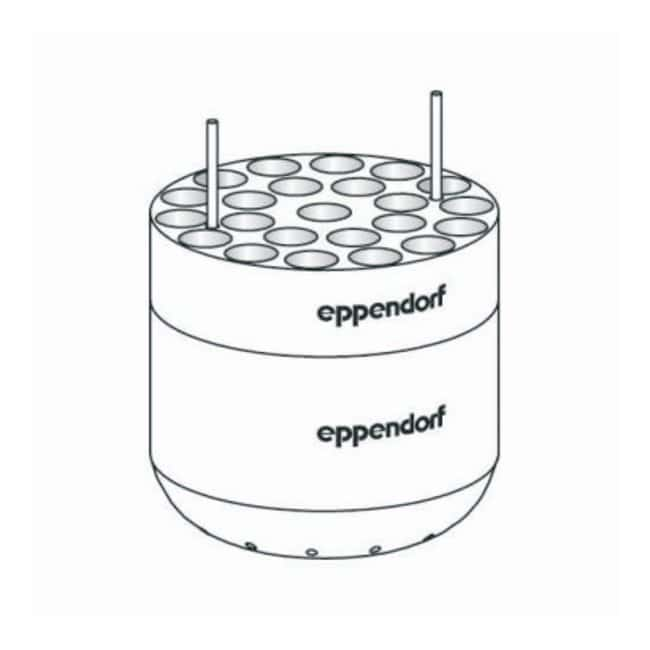 Eppendorf S-4-104 Rotor Adapters  For 23 x 2.6/8mL tubes:Centrifuges and