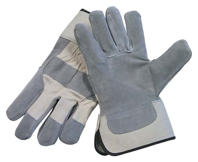 Fisherbrand Premium and Ultra Premium Leather-Palm Gloves Premium grade;