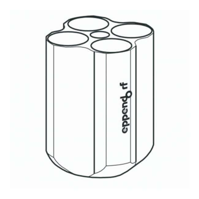 Eppendorf S-4-72 Rotor Adapters  For 4 x 50mL conical tubes:Centrifuges