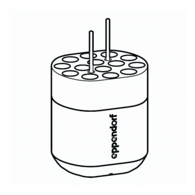 Eppendorf S-4-72 Rotor Adapters  For 14 x 2.6/8mL tubes:Centrifuges and