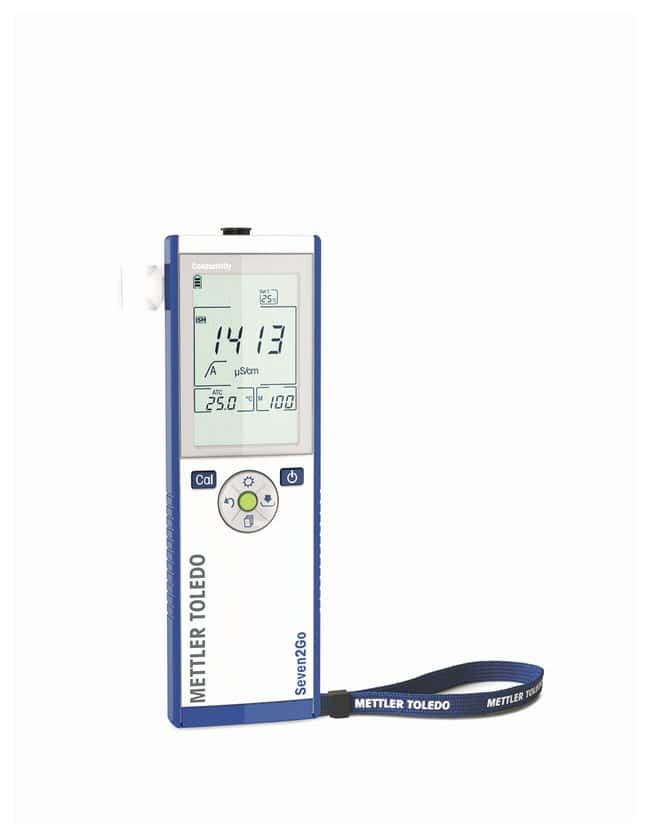 Mettler Toledo™ Seven2Go™ Portable Conductivity Meters: S3 S3 Conductivity Meter: Field Kit Mettler Toledo™ Seven2Go™ Portable Conductivity Meters: S3