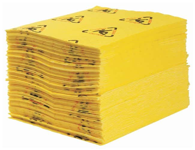 Brady™ BRIGHTSORB™ High Visibility Chemical Absorbent Pads