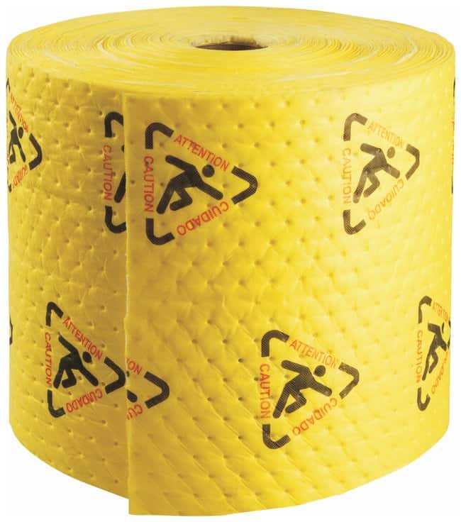 Brady™BRIGHTSORB™ High Visibility Chemical Absorbent Roll