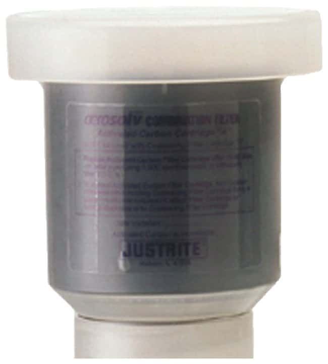 Justrite Standard Aerosolv Aerosol Can Disposal System: Cartridges and