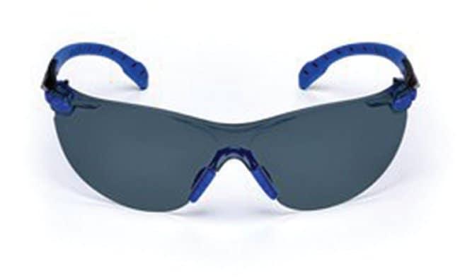 3M Solus 1000 Series Safety Glasses Blue and black frame; Gray lens:Gloves,