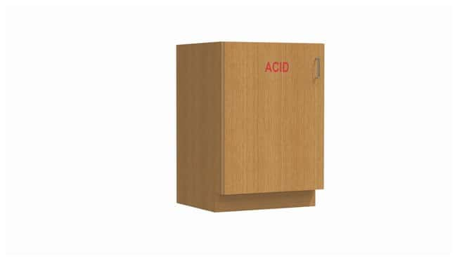 Mott ManufacturingWood Casework Standing Height Specialty Cabinet, Acid