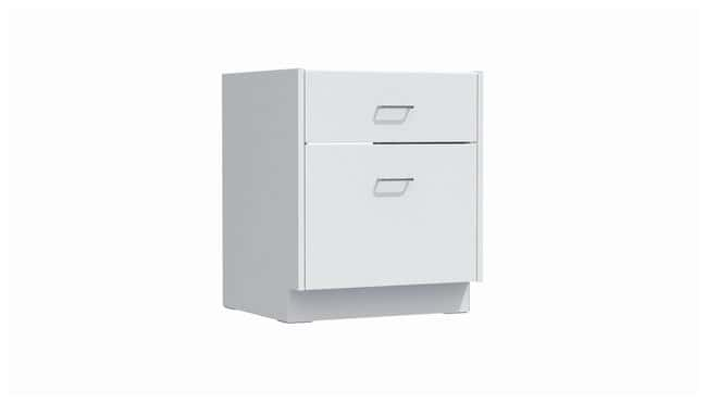 Mott Manufacturing Steel Casework Sitting Height Base Cabinet With File  Drawer