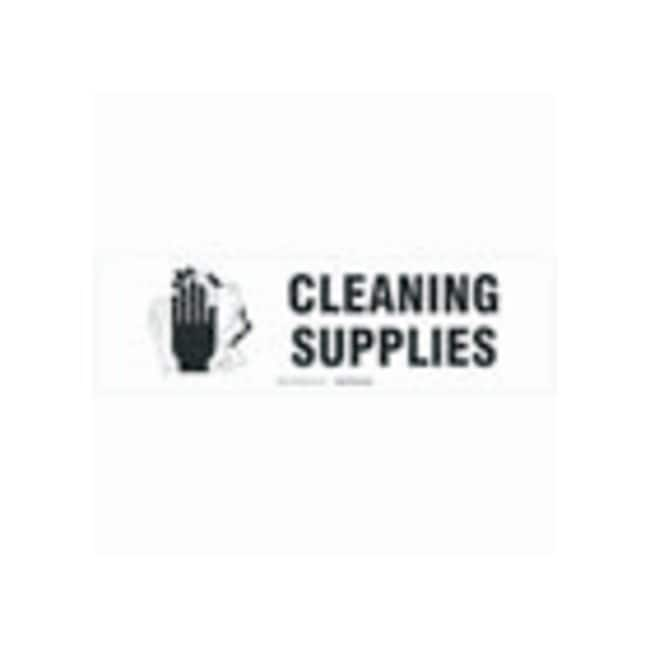 Brady Cabinet Labels: CLEANING SUPPLIES:Gloves, Glasses and Safety:Facility