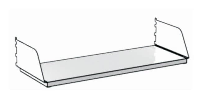 Mott Manufacturing Sigma Flex™ Laboratory Furniture Component, Steel Shelves