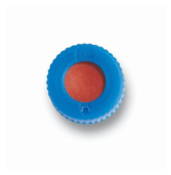 Fisherbrand9 mm Autosampler Vial Screw Thread Open Top Caps with Septa,
