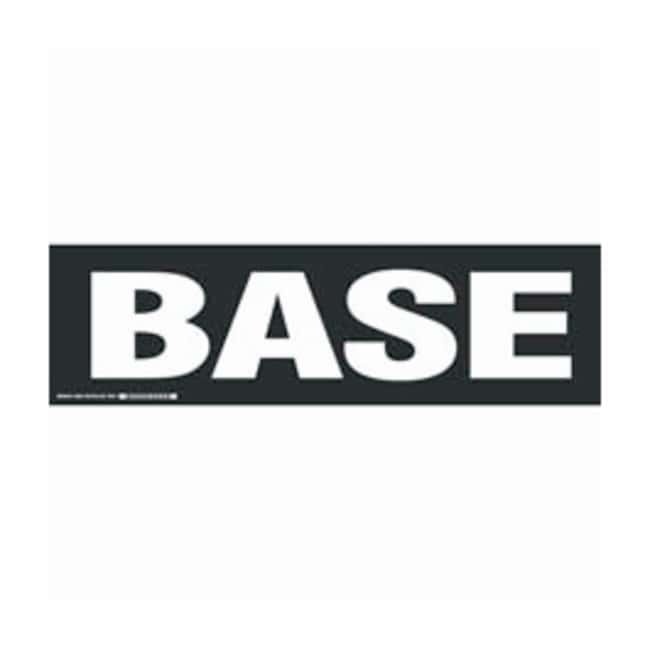 Brady Cabinet Labels: BASE Size: 30.4W x 8.89cm H (12 x 3.5 in.):Gloves,