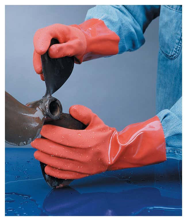PIP PermaFlex Cold-Resistant PVC-Coated Gloves:Gloves, Glasses and Safety:Gloves