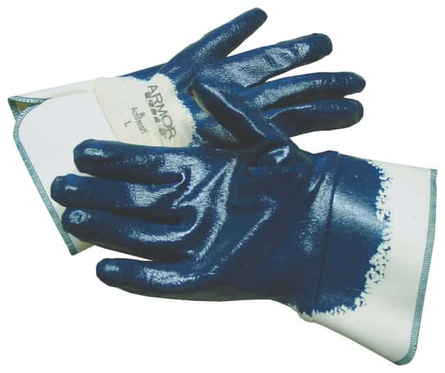 Fisherbrand Lightweight Nitrile-Coated Palm Gloves:Gloves, Glasses and