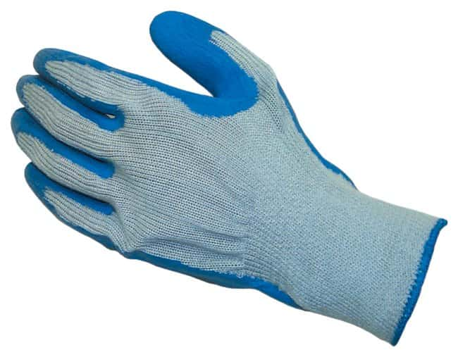Fisherbrand Natural Rubber Latex-Coated Palm Gloves Crinkle-textured finish;