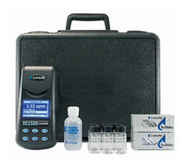 LaMotteDC1500 Chlorine Colorimeter Kit - DPD Liquid DC1500 Chlorine Colorimeter