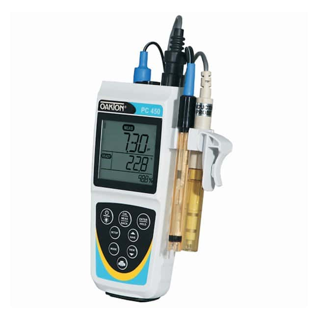 OaktonWaterproof PC 450 Portable Multiparameter Meter:pH and Electrochemistry:Electrochemistry