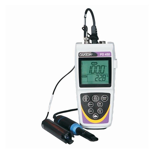 OaktonWaterproof PD 450 Portable pH/DO Meter:pH and Electrochemistry:Electrochemistry