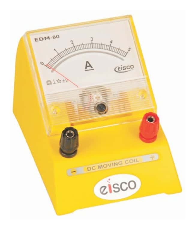EISCO&nbsp;Moving Coil EDM-80 DC Ammeters&nbsp;<img src=