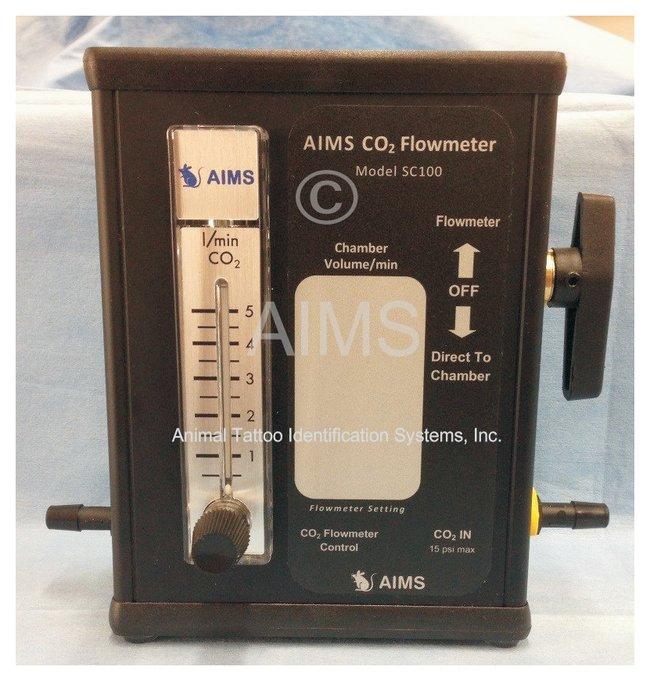 AIMSCO2 Flowmeters: Model SC100 Flow rate: 0.5 to 5L/min:Flow Analysis