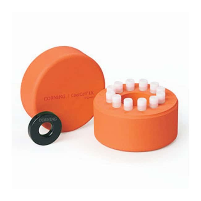 Corning™CoolCell™ LX Cell Freezing Vial Containers Orange Corning™CoolCell™ LX Cell Freezing Vial Containers