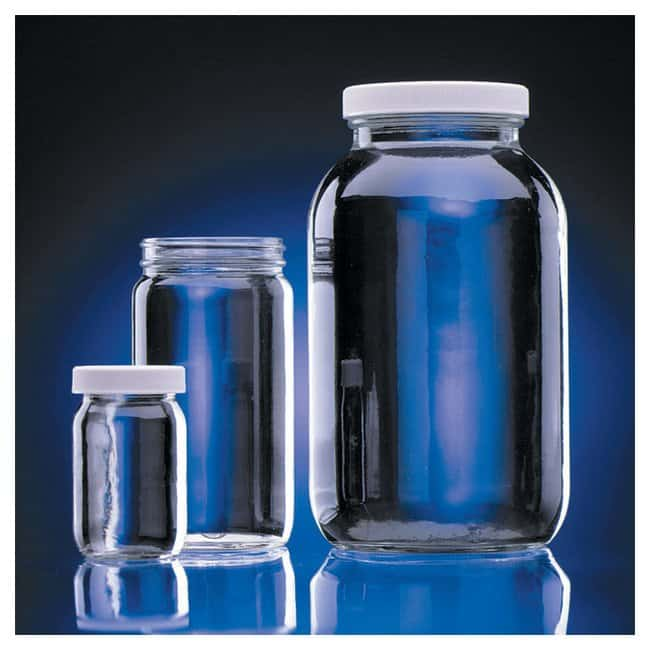 DWK Life SciencesWheaton™ Clear Standard Wide-Mouth Bottles: With Polyvinyl-Lined Caps