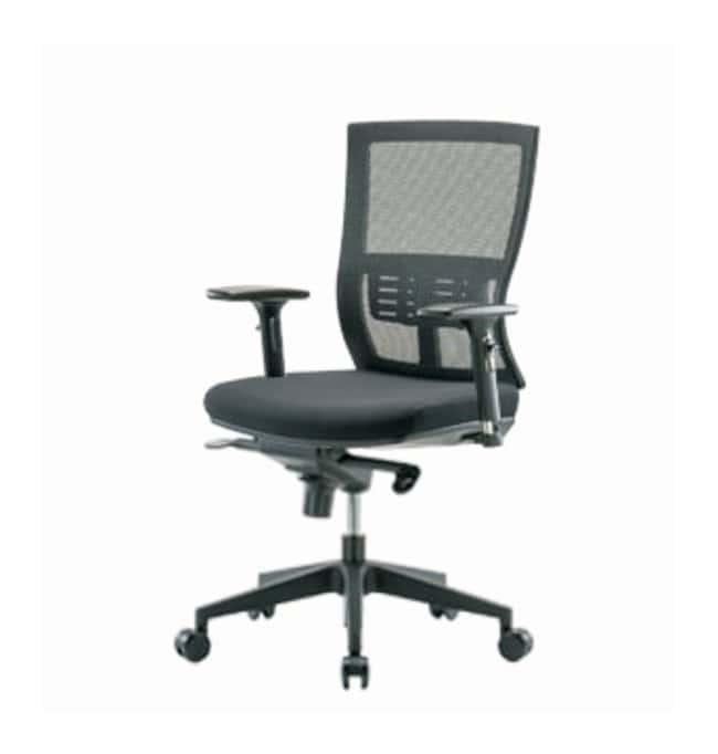 Fisherbrand Modern Mesh Office Chair  With 3D arms, Knee-bend control:Furniture,
