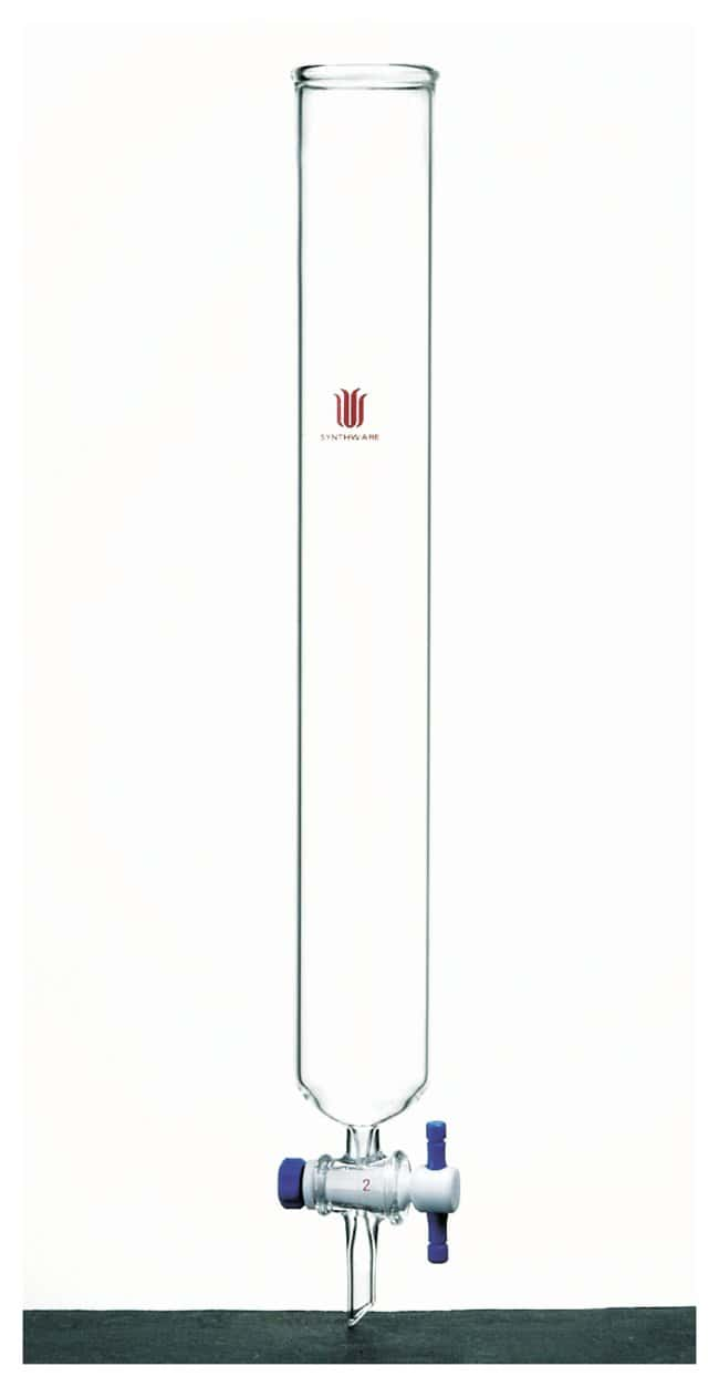 Synthware Chromatography Column with PTFE stopcock:Chromatography:Chromatography