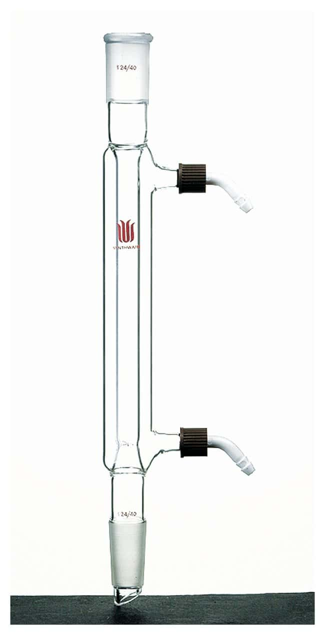 Synthware Distillation Condenser with Removable Hose Connections 24/40