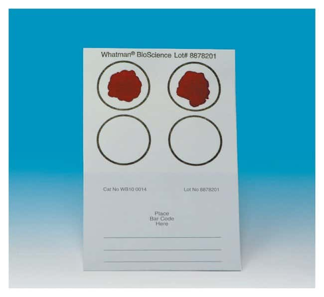 QiagenBlood Stain Cards