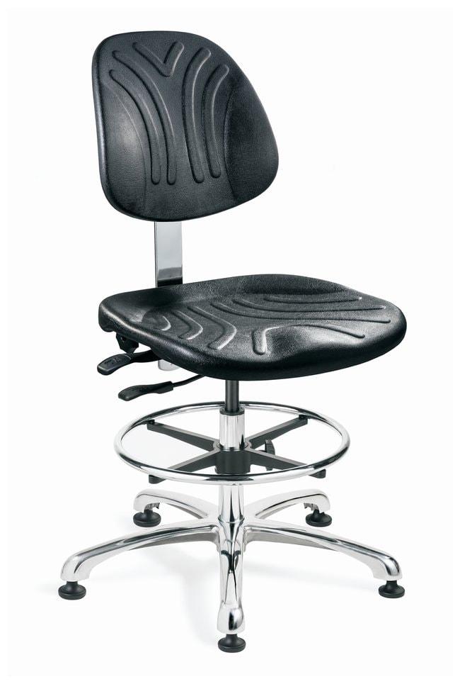 Bevco Dura Series Cleanroom ISO 4 Polyurethane Seating, Medium Bench Height,