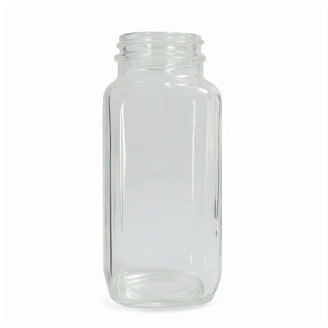 Fisherbrand™ Clear French Square Bottles without Cap
