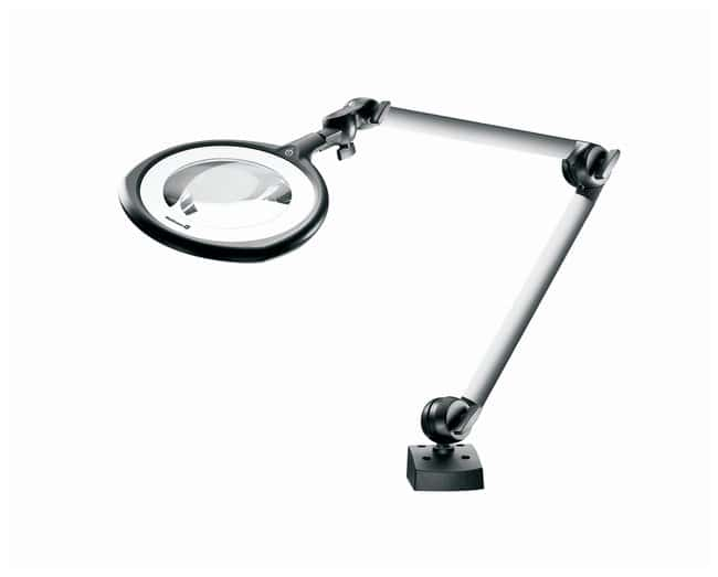 Waldmann Lighting Tevisio Led Magnifier Light 3 5d 8d With Dimming And Segment Switching Gloves Gles Safety Goggles Face