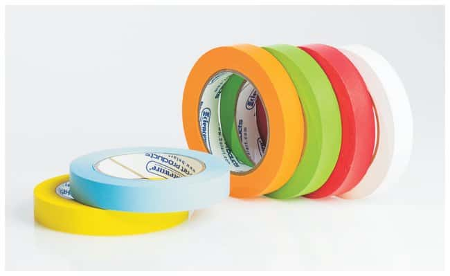 Bel-Art™ Write-On™ Paper Label Tapes 3 in. core; 0.75 in. x 15 yd.; All colors Bel-Art™ Write-On™ Paper Label Tapes