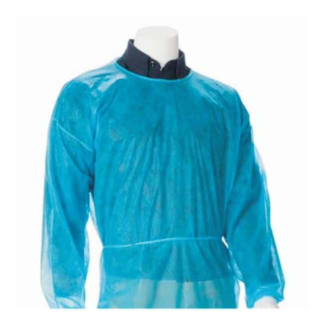 Fisherbrand Polypropylene Isolation Gown Blue, 3X-Large:Gloves, Glasses