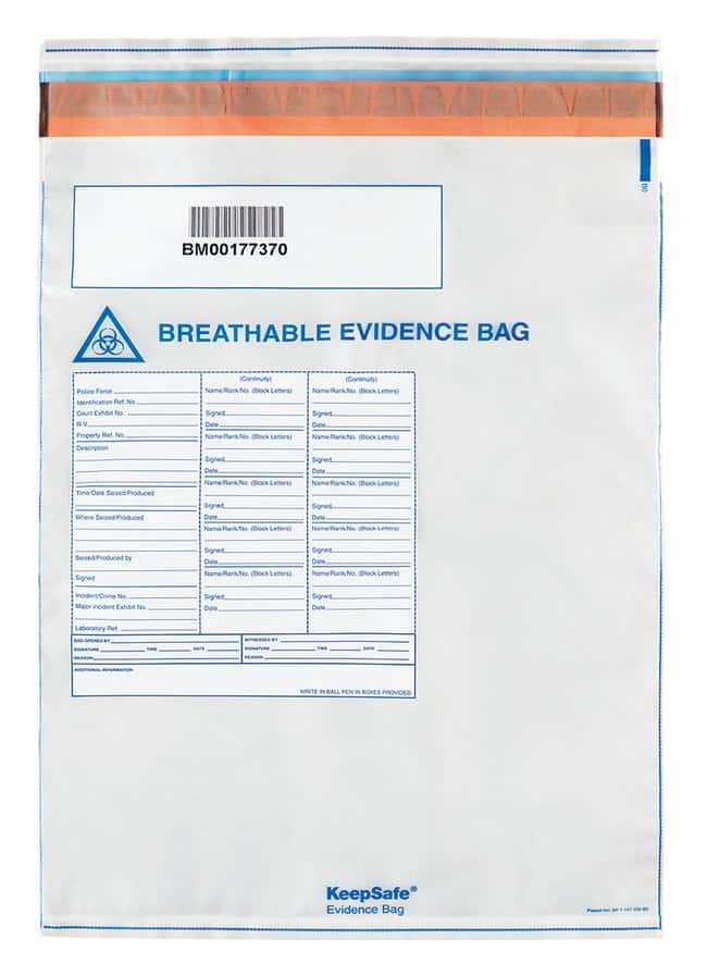 Ampac Evidence Collection Bag :Testing and Filtration