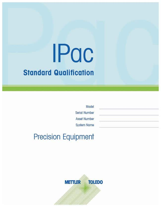Mettler Toledo IPac Professional Installation and Qualification for Compact