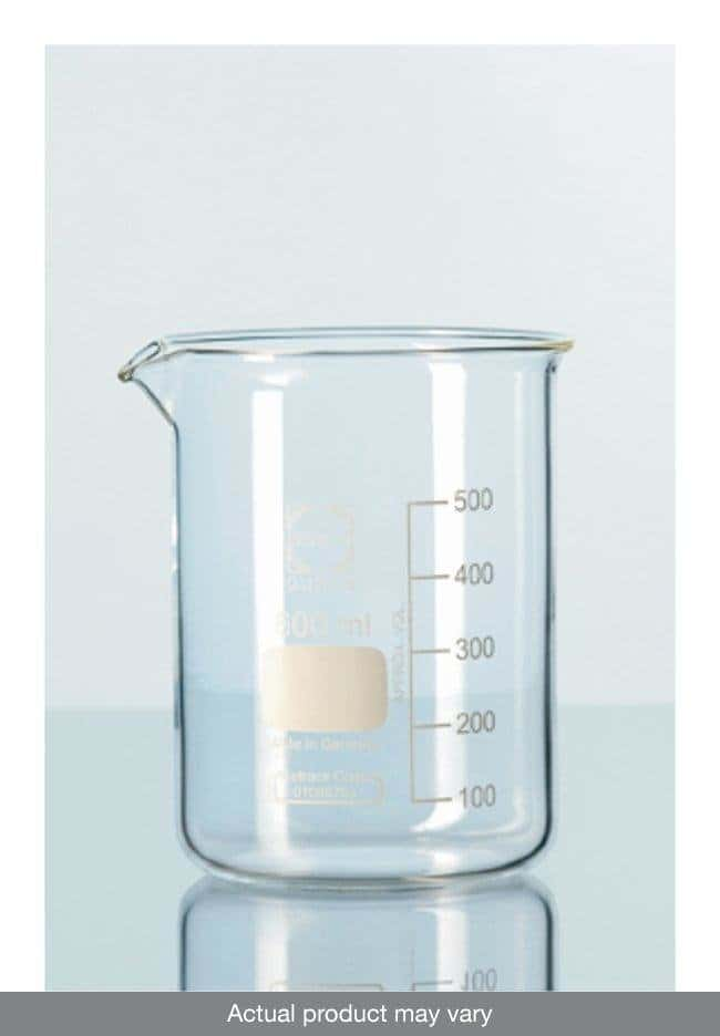 DWK Life Sciences DURAN™ Low Form Beakers with Spout