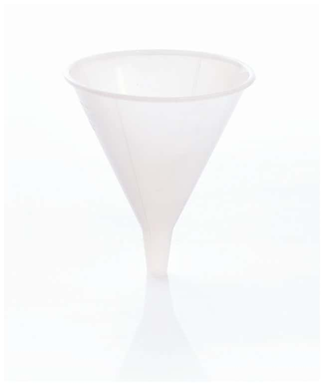 Bel-Art SP Scienceware Utility Funnels Capacity: 4 oz. (120mL); Top diameter: