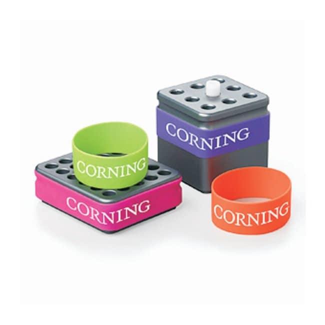 Corning™Elastische Manschetten für CoolRack Module Elastische Hülsen Racks für die Kryo-Lagerung