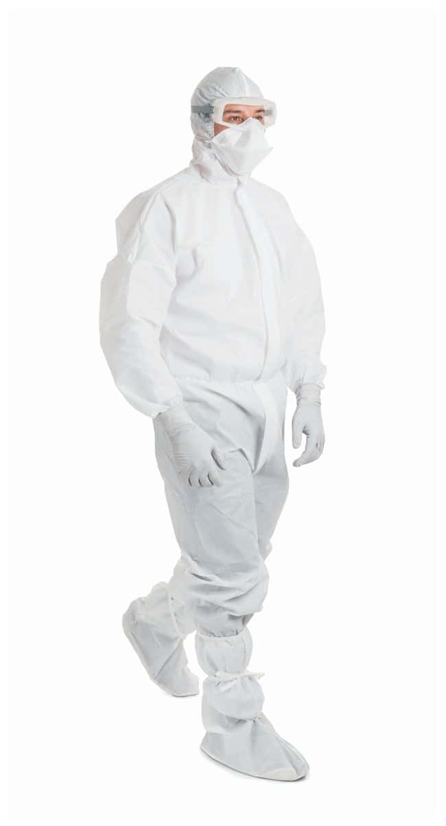 Kimberly-Clark Professional KIMTECH PURE A6 Cleanroom Coveralls Small:Gloves,