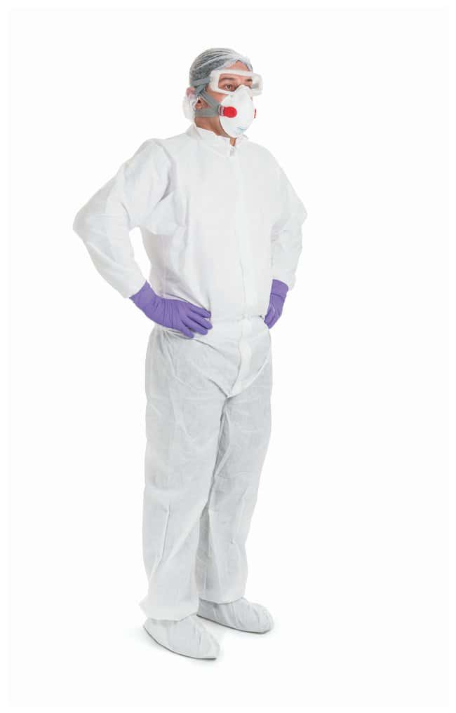 Kimberly-Clark Professional KIMTECH PURE A8 Cleanroom Coveralls Medium:Gloves,