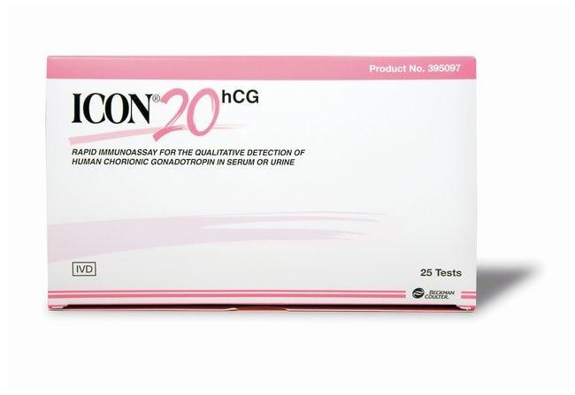 HemoCue America Beckman Coulter ICON 20 hCG Urine/Serum Combo Test  ICON