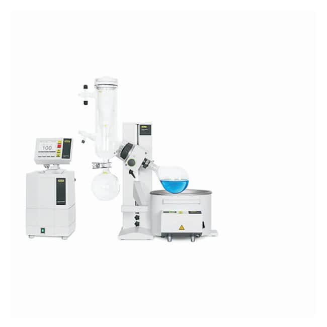 BUCHI Rotavapor R-100 Rotary Evaporator Systems Glass Assembly: Cold trap;