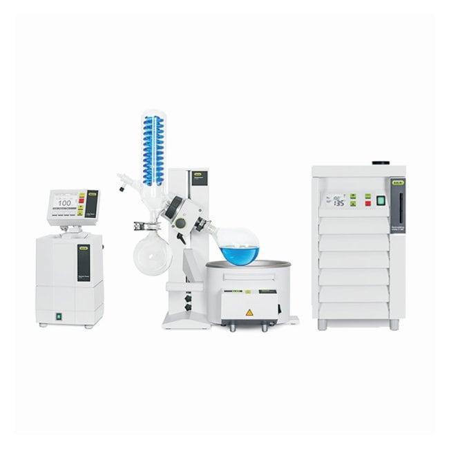 BUCHI Rotavapor R-100 Rotary Evaporator Systems Glass Assembly: Vertical;