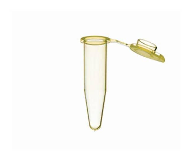 Greiner Bio-OneSapphire PCR-Röhrchen mit angebrachter mattierter flacher Kappe Vol.: 0.5ml; gelb Greiner Bio-OneSapphire PCR-Röhrchen mit angebrachter mattierter flacher Kappe