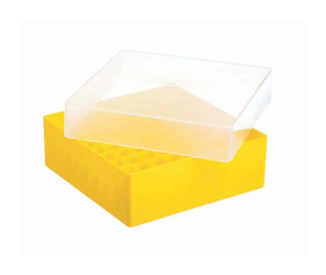 Greiner Bio-One™ 81- Position Polypropylene Cryo Storage Box  sc 1 st  Fisher Scientific & Greiner Bio-One 81- Position Polypropylene Cryo Storage Box Yellow:Life