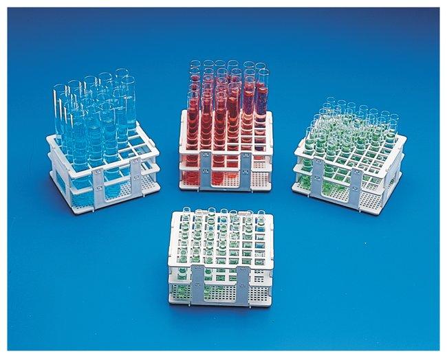 Bel-Art™Semigradillas para tubos de microcentrífuga SP Scienceware™ No-Wire For test tubes 16 to 20mm size; 20 places Bel-Art™Semigradillas para tubos de microcentrífuga SP Scienceware™ No-Wire