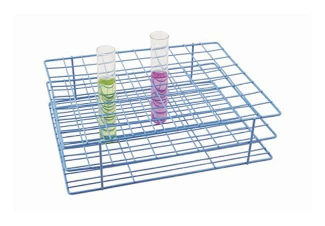 Eisco Test Tube Stand  Holds 80 tubes of 22 to 25mm dia.:Teaching Supplies
