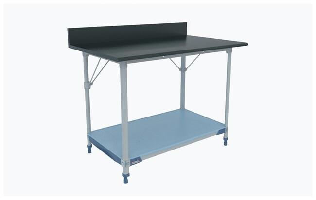 MetroMetroMax i Polymer Lab Worktable, Black Phenolic Top with Solid i
